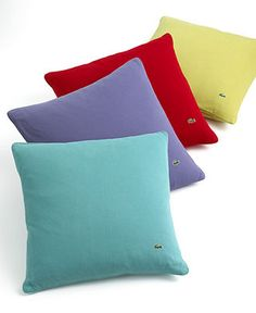 how much do you love these Lacoste (Izod) pillows.
