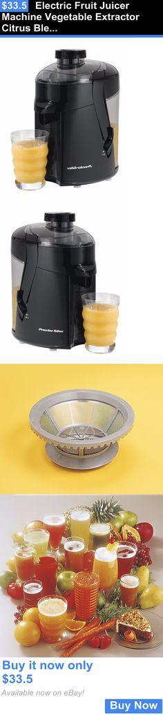 Small Kitchen Appliances: Electric Fruit Juicer Machine Vegetable Extractor Citrus Blender Juice Maker New BUY IT NOW ONLY: $33.5 Fruit Juicer, Citrus Juicer, Small Juicer, Centrifugal Juicer, Juice Maker, Dessert Makers, Coffee And Tea Makers, Juicer Machine, Best Juicer