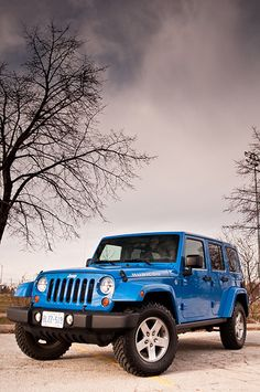 Jeep Wrangler Rubicon. I prefer the Sahara version, just because most never have a need for the deep off-road capabilities of the Rubicon - me included, and I camp more than many.