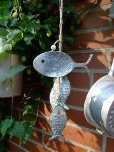 Fisch aus altem Besteck basteln
