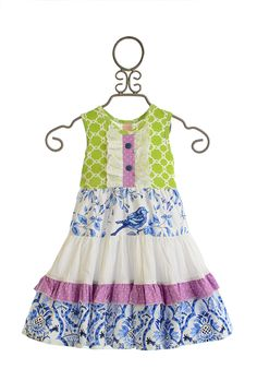 Giggle Moon Heaven Sent Girls Party Dress $70.00