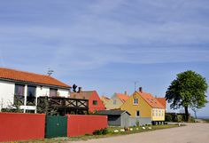 Houses in Svaneke at Bornholm on a sunny day in May. by | kenneth | mostly away from flickr, via Flickr