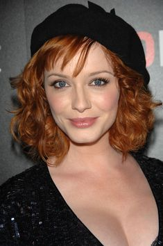 "Christina Hendricks Photos - Actor Christina Hendricks attends AMC & Heineken's ""Mad Men"" second season wrap party at Cicada on August 2008 in Los Angeles, California. - AMC & Heineken's ""Mad Men"" Second Season Wrap Party Christina Hendricks, Gorgeous Redhead, Gorgeous Women, Mad Men, Cristina Hendrix, Mode Statements, Redhead Hairstyles, Beautiful Christina, I Love Redheads"