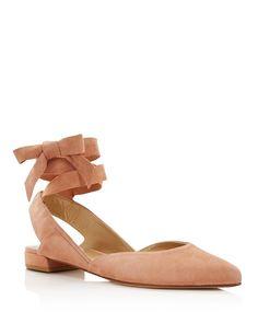 Best Accessories for Your Boho Wedding Dress - Stuart Weitzman ballet flats