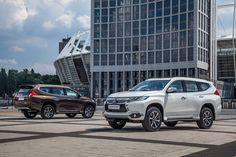 В Украине стартовали продажи новейшего Mitsubishi Pajero Sport