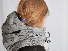 Tutoriel DIY: Coudre une écharpe capuche via DaWanda.com