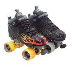 Sure-Grip Rock Flame | Sure Grip | Sure Grip Skates Package | Speed Skate  145 have pink