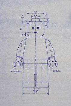Lego Man Blueprint