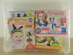 Lets Knit Kits x 4 (bumble bee, Princess Fifi, Freddie Dino & accessories)