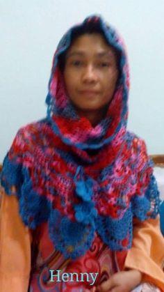 Crochet hoodie Pattern by Nurul Hawalaina Yarn : ICT Tulip gold hook no 4