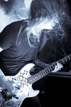 Jerry Cantrell - Alice in Chains. The 90's wouldn't be the same without him and Alice In Chains.