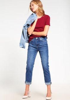 Topshop Jeans Straight Leg - darkstone für 54,95 € (29.09.16) versandkostenfrei bei Zalando bestellen.