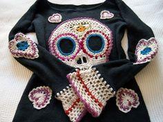 VMSom Ⓐ Koppa: Skull Sweater