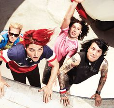 I still can't believe they photoshopped pants on Gerard.