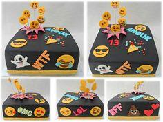 Emoji taart / emoji cake