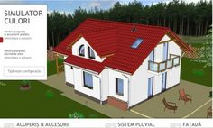 Simulator de culori pentru acoperisuri si fatade: alege cum va arata casa ta de vis!