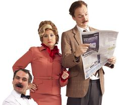 Faulty Towers: The Dining Experience    #Manchester  Fri 29 August - Sun 31 August    Dine while waited upon by by Basil, Sybil and Manuel in this internationally acclaimed tribute to the BBC's best-loved sitcom.