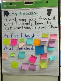 All Things Upper Elementary: Synthesizing