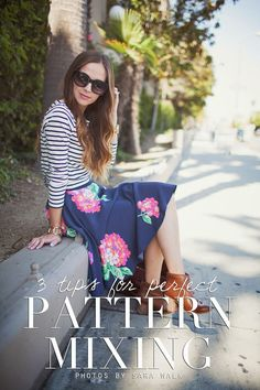 Pattern mixing is definitely one of my favorite ways to dress -- combining bright or bold or busy patterns make an outfit so fun and interesting. But pattern mixing is successful only if you strike the right balance between the patterns, and that's where...