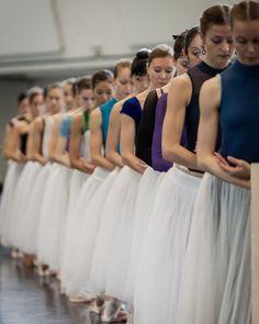 "© Yan Revazov ""Giselle"" (rehearsal) choreography by Patrice Bart, Staatsballett Berlin Berlin State Ballet"