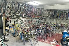 150 vintage Italian bicycles anyone? This guy is selling his collection on eBay