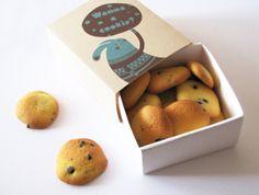"""Empaque de galletas """"Bunny Cookie"""" por Andrea Olivo"""
