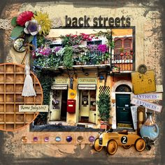"""I always like to visit the back streets and it is surprising what you find.  This is in Rome....pretty isn't it? <br /> Created with Country Vacation Page Kit by PattyB Scraps<br /> <a rel=""""nofollow"""" href=""""http://www.godigitalscrapbooking.com/shop/index.php?main_page=product_dnld_info&cPath=29_335&products_id=32756"""" target=""""_blank"""">http://www.godigitalscrapbooking...."""