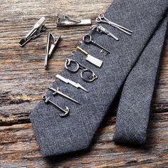 Tie bars from ties.com #mensaccessories #mensfashion #tiesdotcom