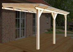 Komplett-Bausatz einer solidBASIC Holz-Terrassenüberdachung inklusive Bedachung mit 8mm VSG-Glas! Alle Maße erhältlich! Hier geht es zu den Sondermaßen