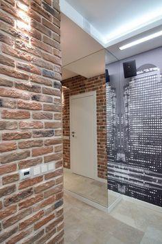 Otthonos, minimál stílusban berendezett kis 40nm-es lakás egy egyedülálló férfinak