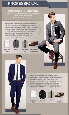 Professional Dress Code – - business professional outfits for interview Mens Business Professional, Professional Dress Code, Business Casual Men, Men Casual, Mens Style Guide, Men Style Tips, Fashion Mode, Look Fashion, Curvy Fashion