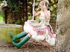 I absolutely adore petticoats. Although, I would suggest wearing them in the fall.  Doris_Designs_Petticoats_ADULTS_2011-34 by Doris Designs Ltd., via Flickr