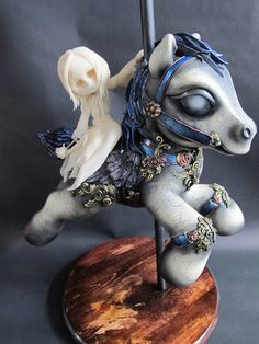 Beautiful My Little Pony carousel mod. (Goodnight, Sweet Dreams...XO by j*ryu, via Flickr)