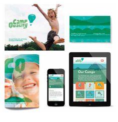 'Camp Quality' Branding designed by Parcel Design (Toronto, Canada). 2014…