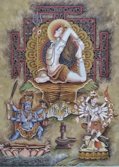 Kala Ksetram, Three Forms of Shiva : Yogeswara, Bhairava and...