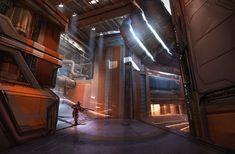 ArtStation - Unreal Tournament - Hydraulics , Eddie Mendoza