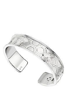 THEO FENNELL Small sterling silver bee cuff bangle