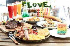 Fresh Fruits Lab FFL (Cafe): 351 Changi Road Tel: +65 6677 6741 Tue to Thu: 11am – 10pm Fri & Sat: 10am – 11pm Sun: 10am – 10pm Nearest Station: Eunos/Kembangan Website: www.ffl.com.sg
