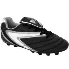 SALE - Kids Vizari Verona Soccer Cleats Black Synthetic - Was $22.49 - SAVE $3.00. BUY Now - ONLY $19.49