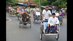 Anies dan becak, sama sama bikin macet Jakarta