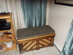 Bench cushion afterwards.