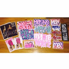 A very special sticker pack from Mel One featuring stickers from Reups and friends Very limited edition Very special Very important to not sleep XO Graffiti, Packing, Nyc, Stickers, Etsy, Bag Packaging, Graffiti Artwork, New York, Decals