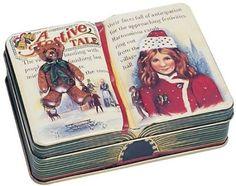 The Silver Crane Company Tin Festive Tales Small Book