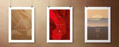 Triptyque posters 50x70cm - Eternel - Sauveur - Alpha & Omega - atelierdubarbu.com #minimaliste #design #poster #bible #inspiration #chretien #verset #dieu #sauveur #seigneur #univers #jesus