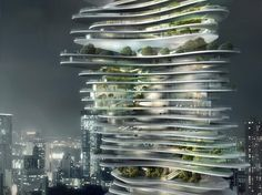 Urban Forest by MAD Architects [China]. http://www.arch2o.com/urban-forest-mad-architects/  Join the OpenLab Online Community here:  https://www.facebook.com/openlabradio