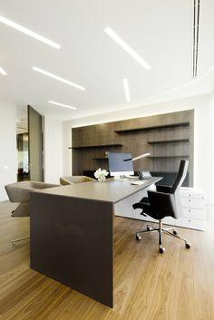 Zona de trabajo que diseñamos para la IM Clinic #interiorismo #diseño