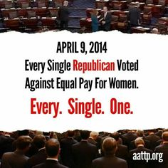 THIS IS A FACT PEOPLE!!!  women wake up and vote for women who are for women.