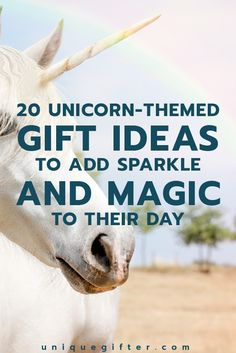 20 Unicorn Themed Gifts To Add Sparkle And Magic Their Day