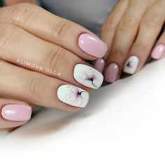 50 Beautiful Floral Nail Designs For Spring - Page 34 of 50 - Chic Hostess