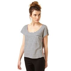 Buy the Mia Striped Top at Oliver Bonas. Enjoy free worldwide standard delivery for orders over £50.